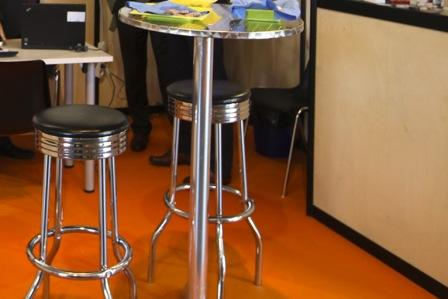 Extra furnishings at QUiCKFairs exhibitions