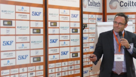 Conference at QUiCKFairs Coil Winding exhibition Coiltech