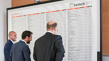 Exhibitors at Coiltech