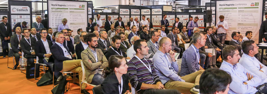 Attendees at World Magnetic Conference