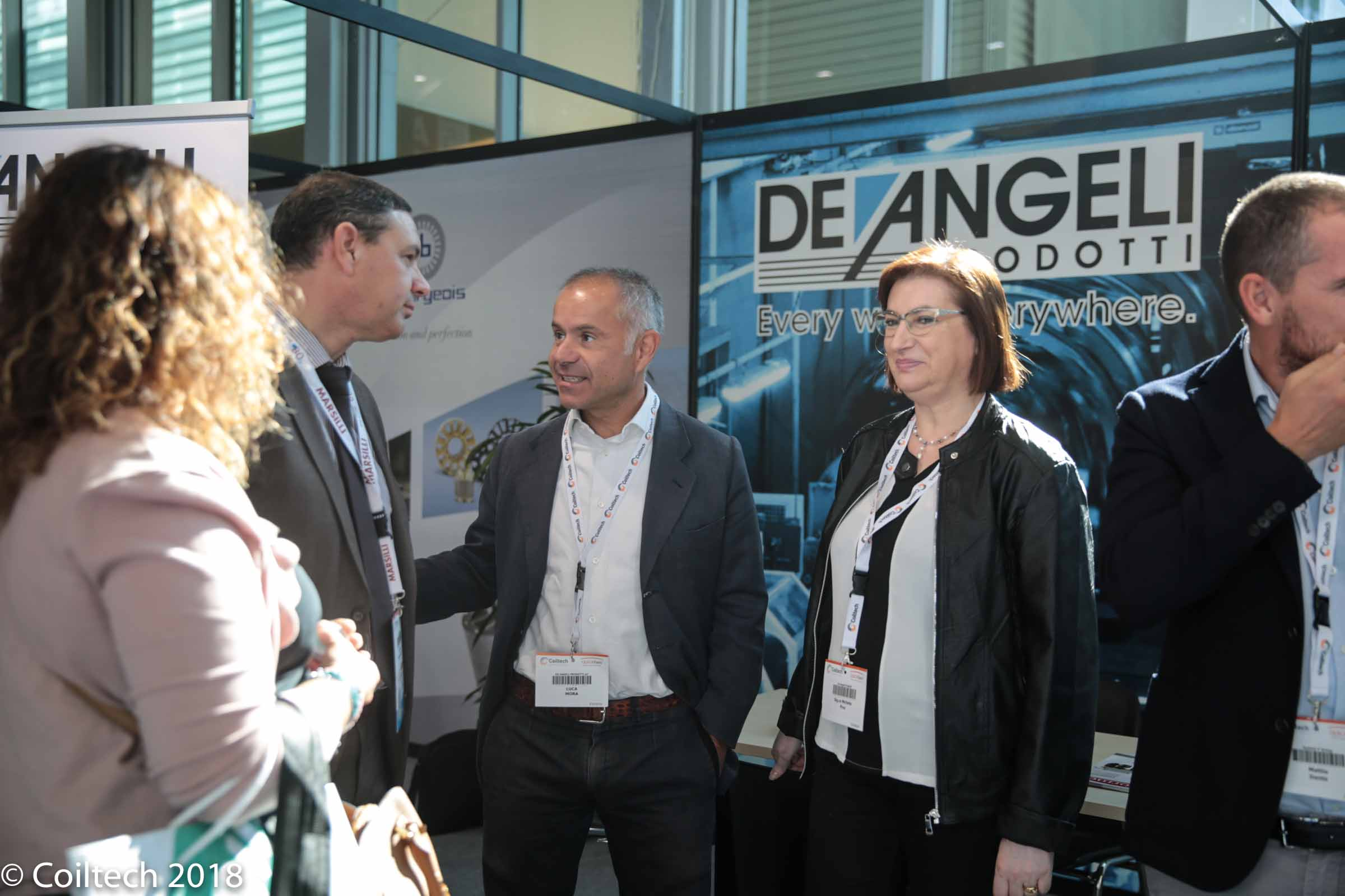 Stands at Coiltech 2018