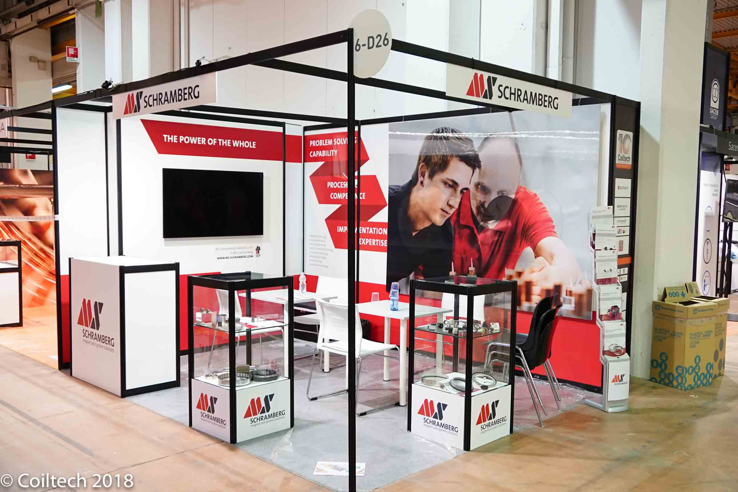 Example of cutomized booth