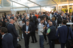 Coiltech Exhibitor Get Together - nice atmosphere