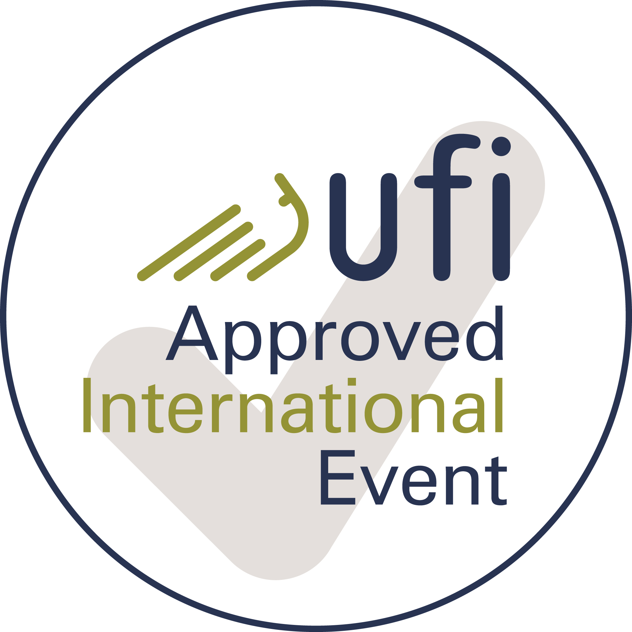 UFI Approved Event Logo